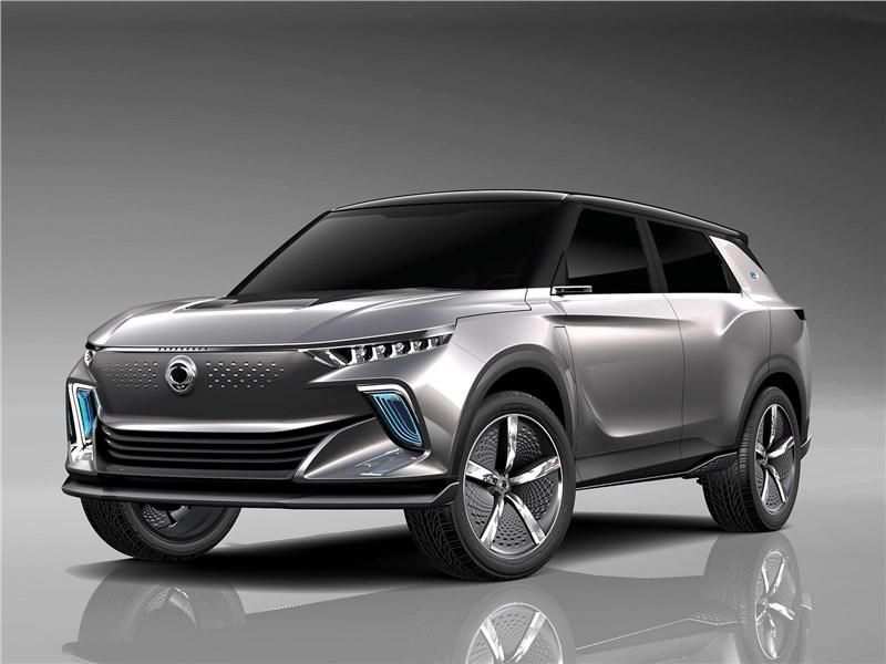 Новый SsangYong SIV EV - SsangYong e-SIV EV Concept 2018 Поиск индивидуальности
