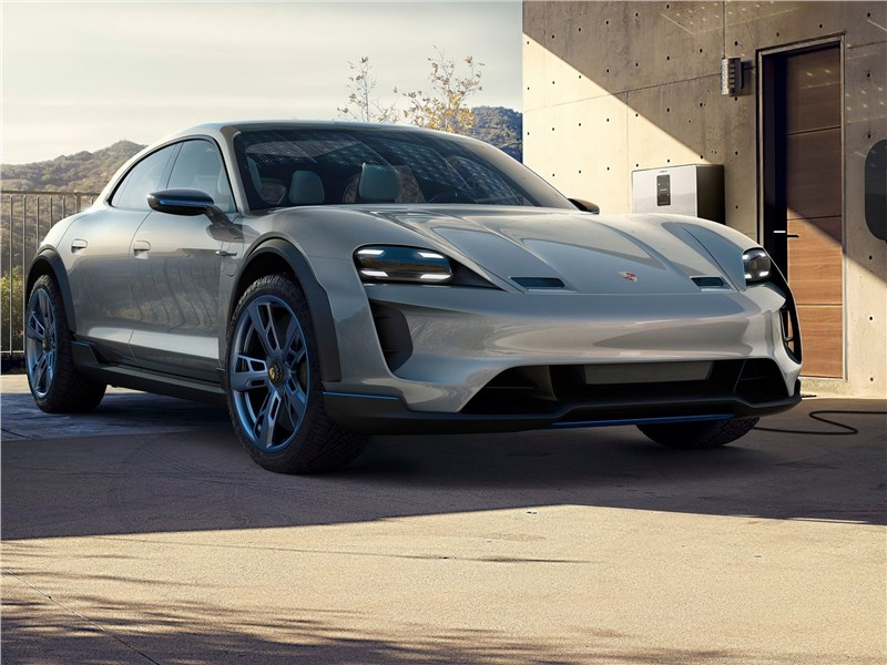 Новый Porsche Mission E Cross Turismo - Porsche Mission E Cross Turismo Concept 2018 Турист
