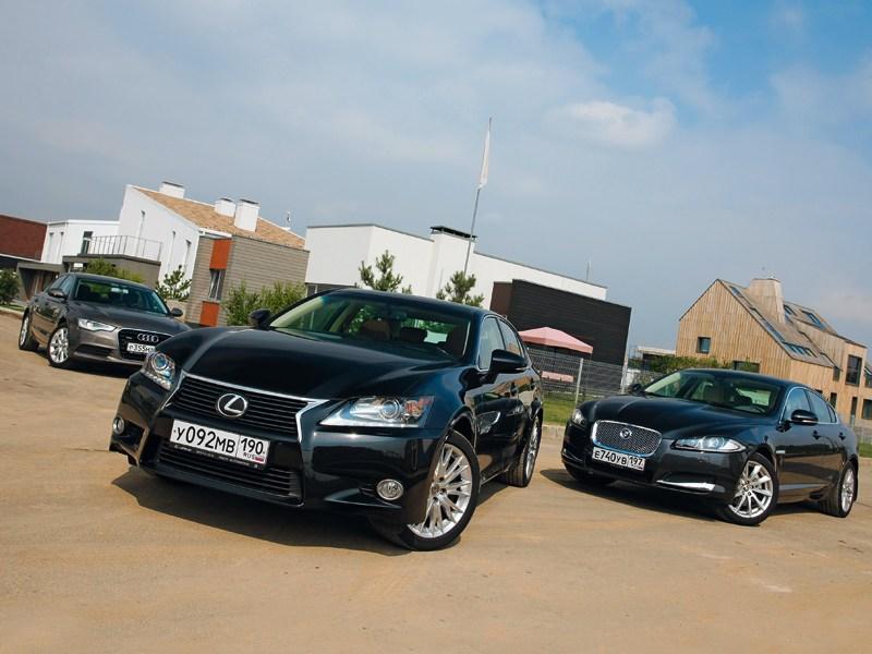 Audi A6, Jaguar XF, Lexus GS - сравнительный тест lexus gs, audi a6, jaguar xf