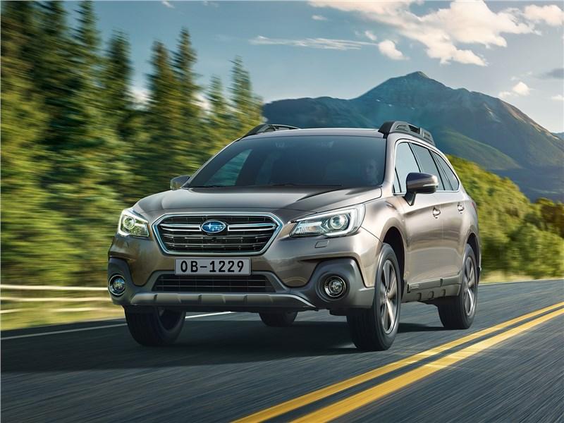 Subaru Outback V рестайлинг