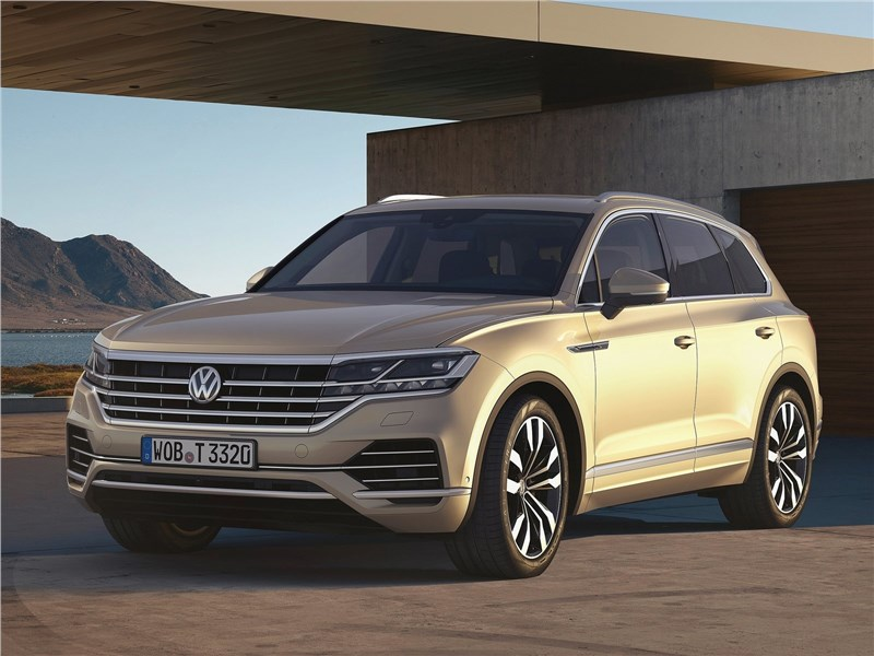 Volkswagen Touareg 2019 Прошу на асфальт!