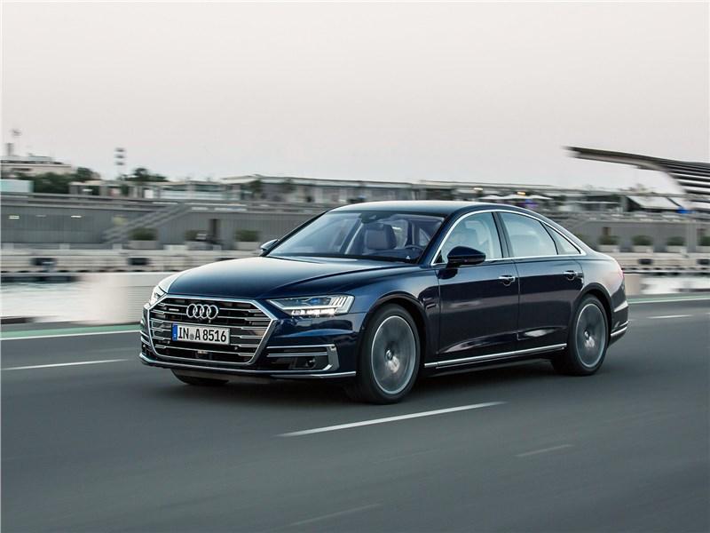 Audi A8 2018 научился ездить без водителя