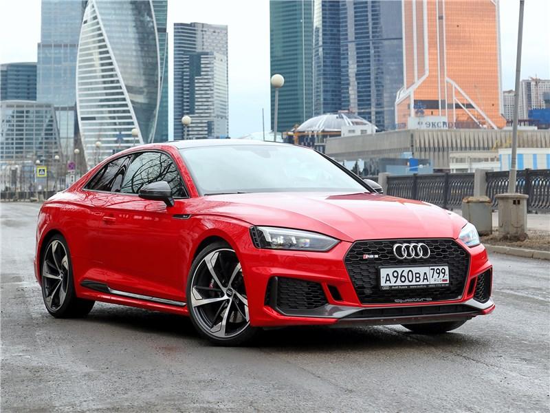 Audi RS5 - audi rs5 2018 умеет сочетать несочетаемое