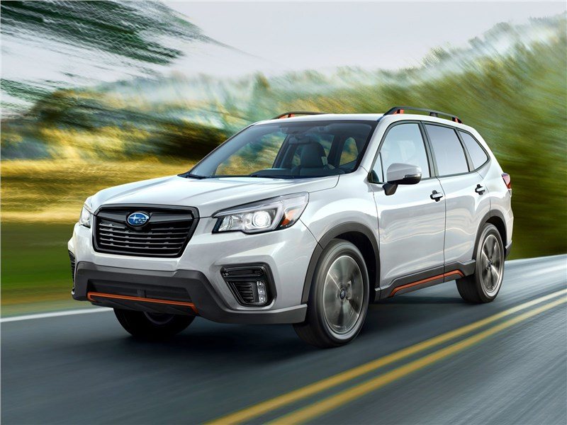 Новое поколение Subaru Forester   Верность традициям Фото Авто Коломна
