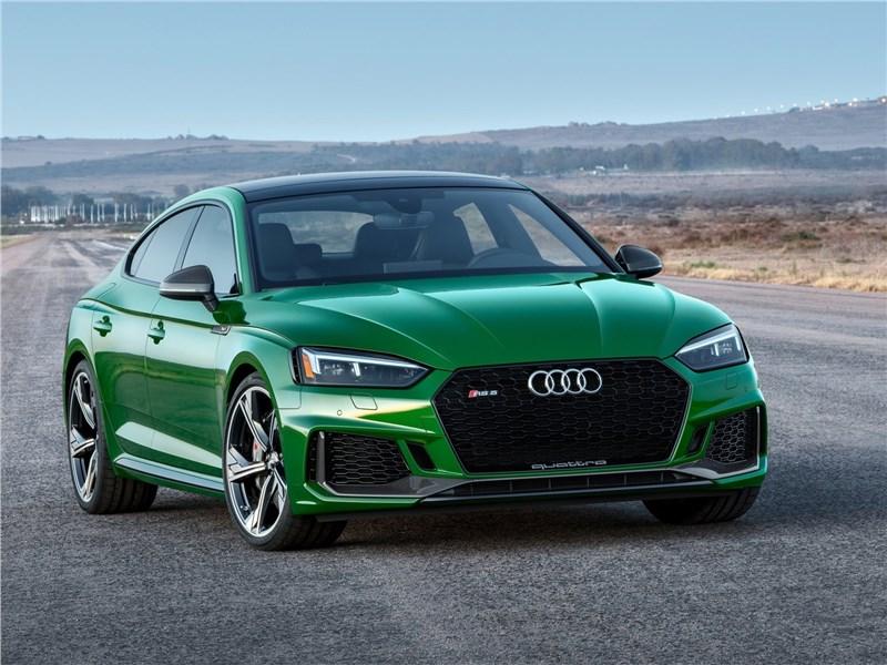 Новый Audi RS5 - Audi RS5 Sportback 2019 Спортподготовка