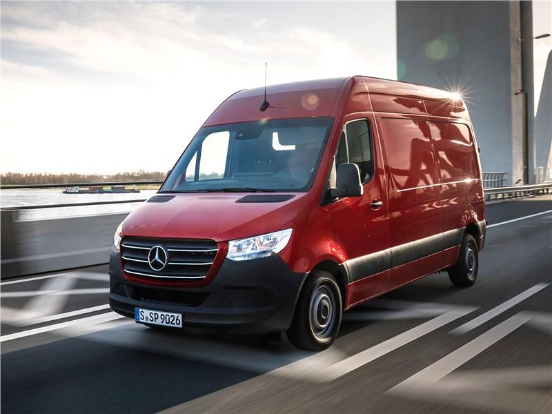 Mercedes-Benz Sprinter 2018 совместил грузовые таланты и премиальные ценности