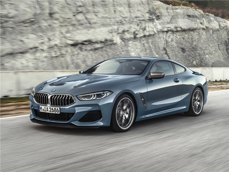 BMW 8-Series Coupe 2019 Рокировка