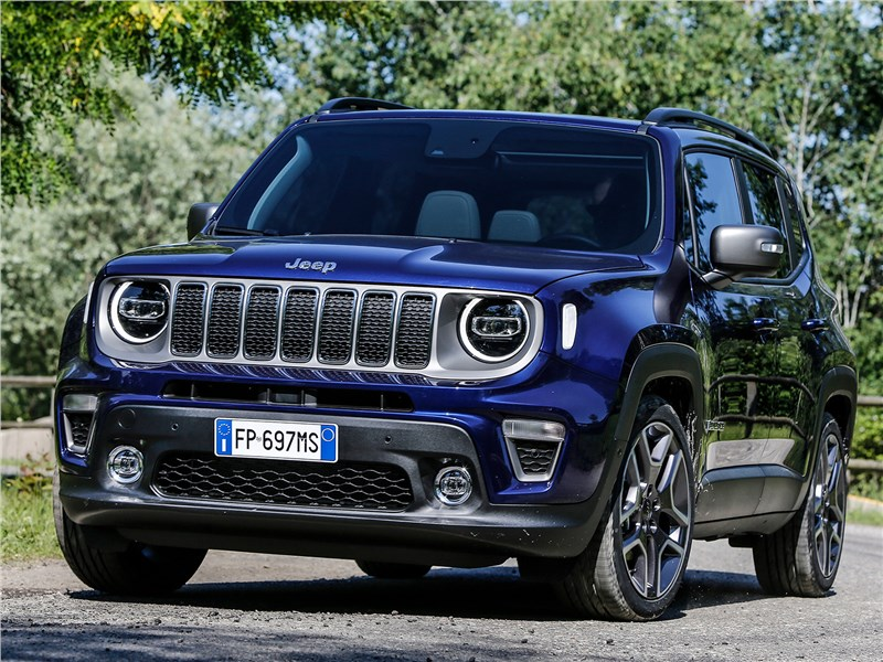 Jeep Renegade 2019 Наведение лоска