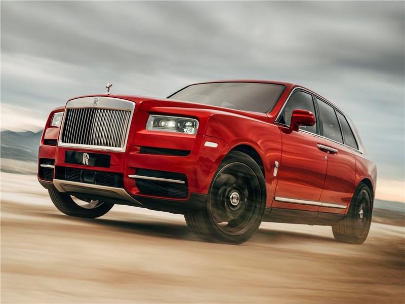 Rolls-Royce Cullinan 2019 Царь кроссоверов?