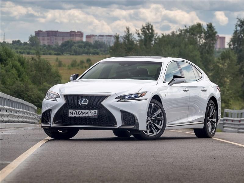 Lexus LS - lexus ls 500 f sport 2018 удивительное – рядом: lexus ls стал драйверским автомобилем