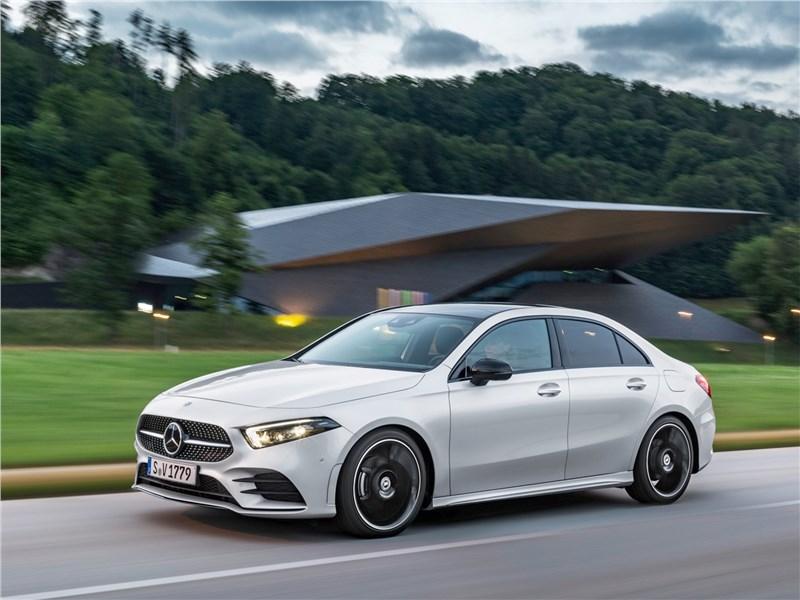 Новое поколение Mercedes Benz A Class   Новый игрок Фото Авто Коломна