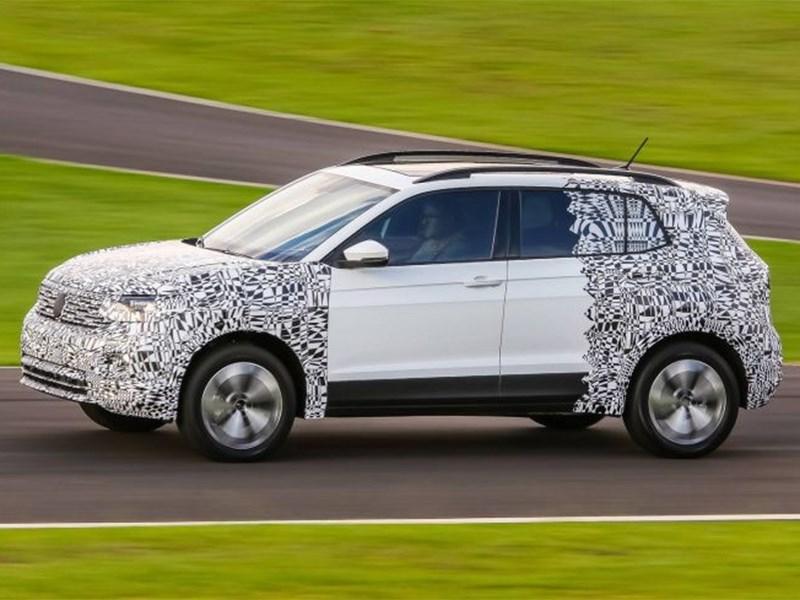 Компактный кроссовер от Volkswagen уже скоро покажут Фото Авто Коломна