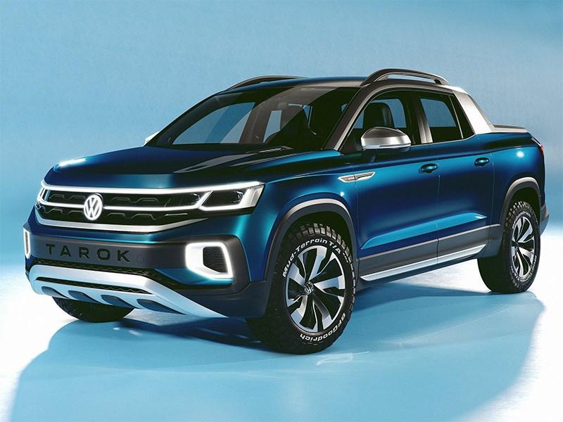 Volkswagen делает ставку на пикапы Фото Авто Коломна