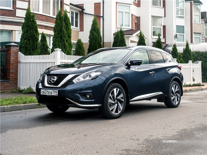 Nissan Murano 2015 Почему «японец» из США в России ко двору пришелся