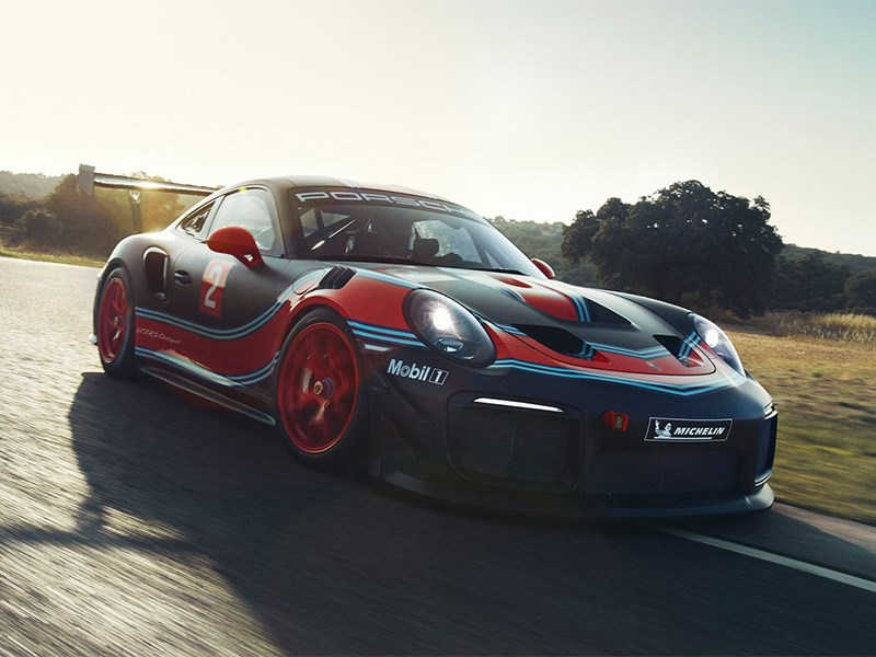 Состоялась премьера Porsche 911 GT2 RS Clubsport