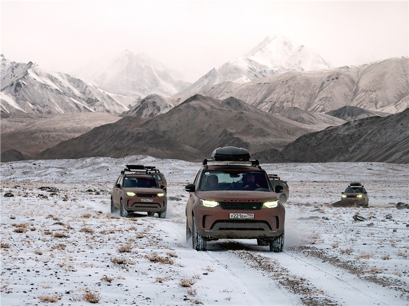 Land Rover Discovery - land rover discovery 2017 : высота