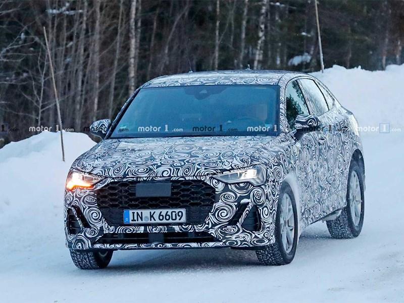 Замечен новый кроссовер Audi Фото Авто Коломна