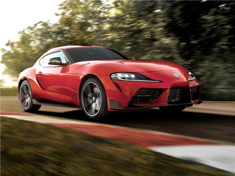 Представлена Toyota Supra для дрифта