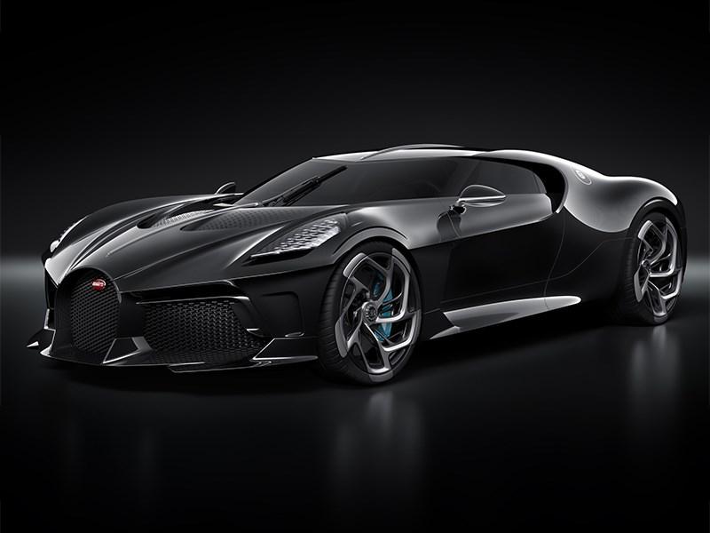 Bugatti построила уникальный гиперкар Фото Авто Коломна