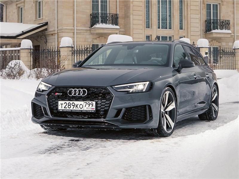 Audi RS4 - audi rs4 avant 2018 уроки самообладания от спортивного универсала