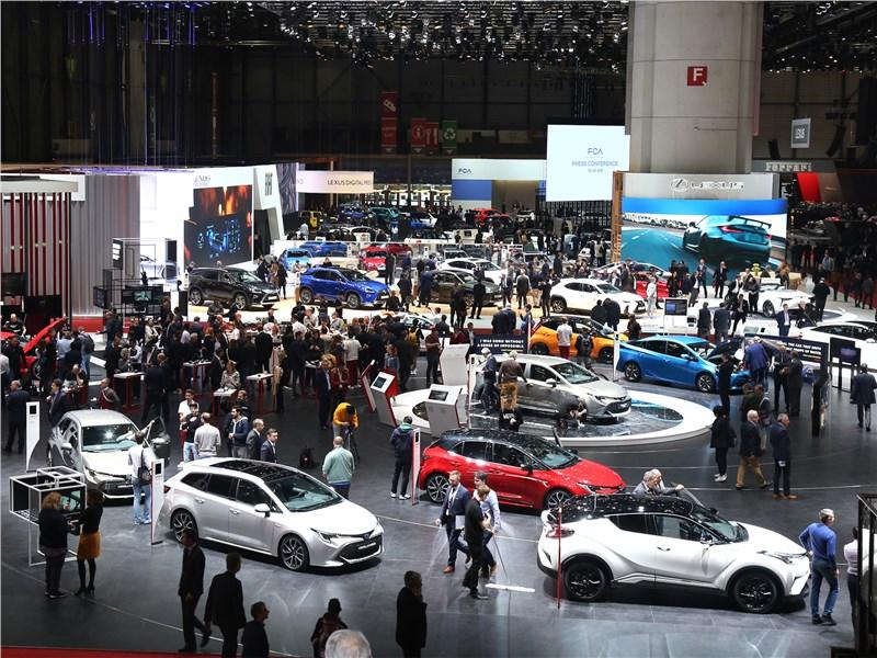 Автосалон в Женеве 2019 Переформатирование
