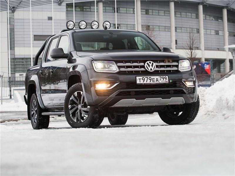 Volkswagen Amarok - volkswagen amarok dark label 2019 черная магия… практичности