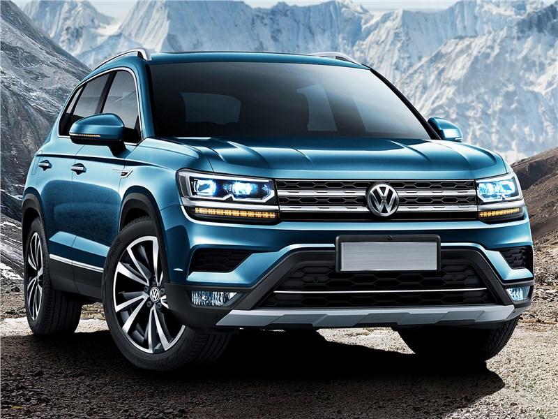 Volkswagen Tarek 2020 вид спереди
