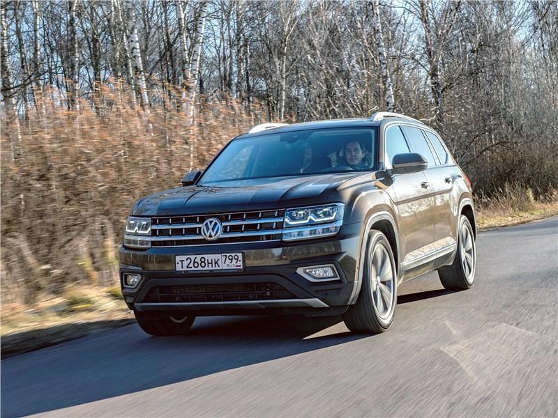 Volkswagen Teramont (2018) вид спереди