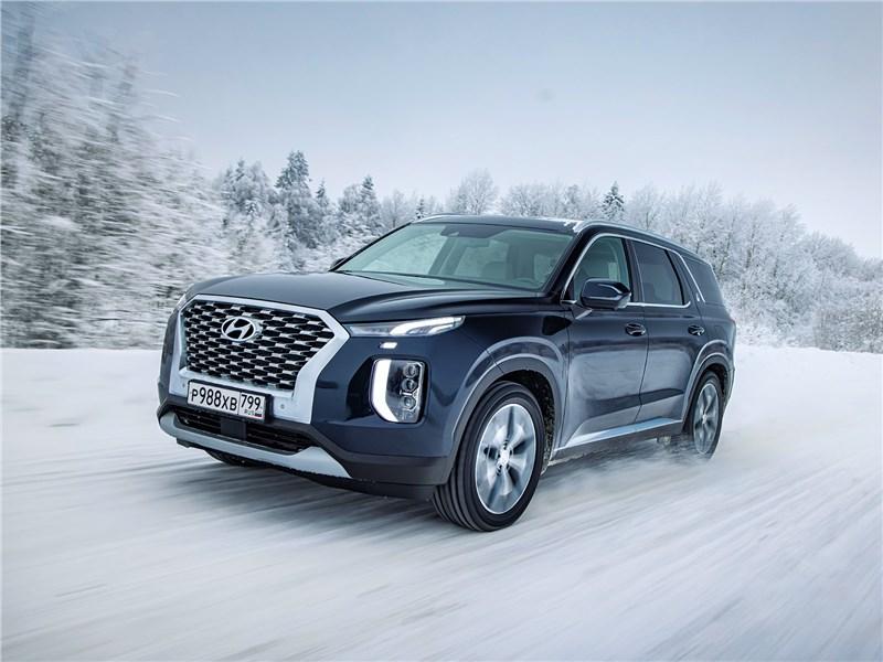 Hyundai Palisade (2020) вид спереди