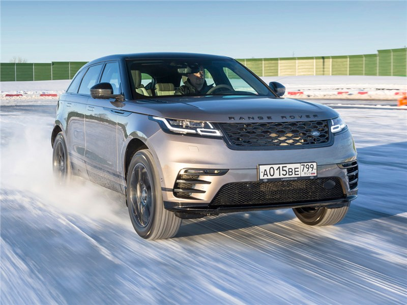 Range Rover Velar 2017 вид спереди