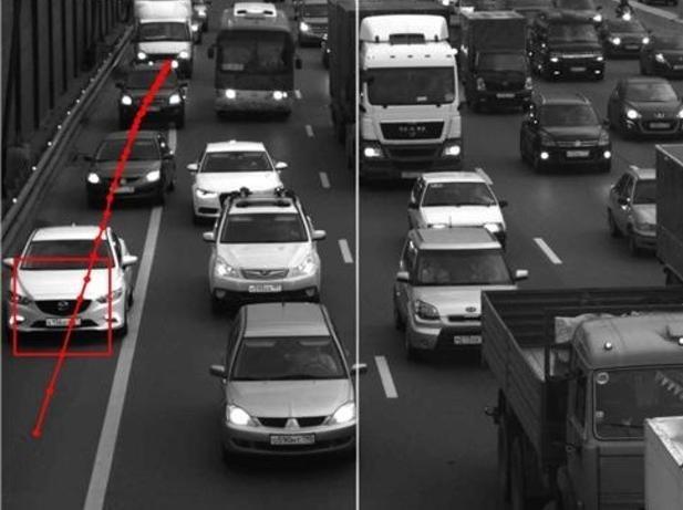 Камеры вдоль МКАД эффективно предотвращают выезд на обочину