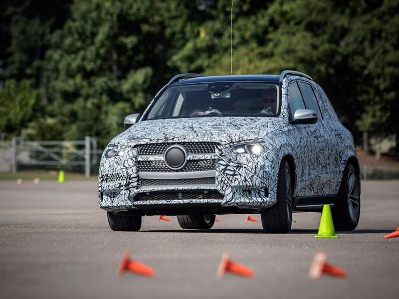 Mercedes-Benz GLE получит подвеску от S-класса