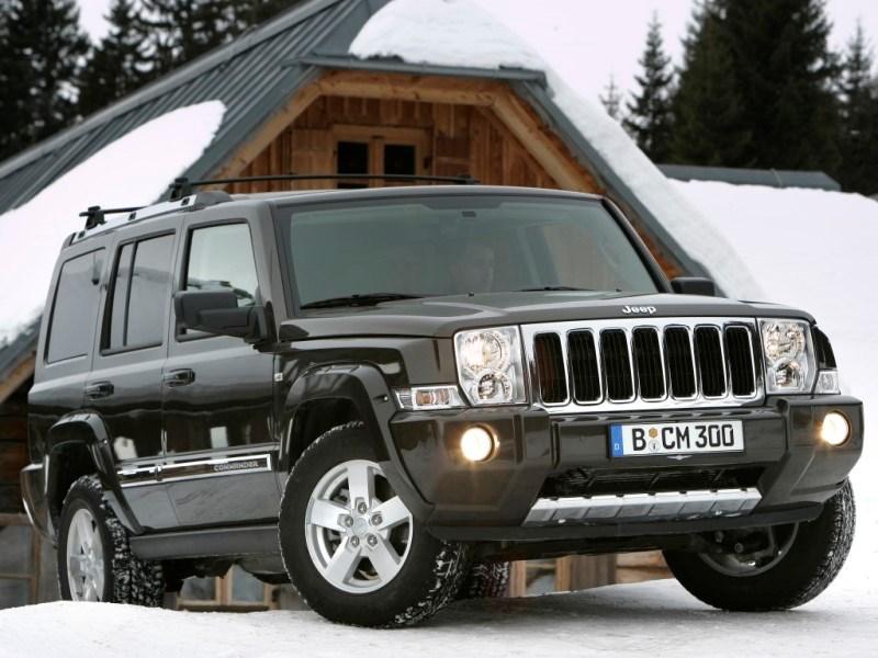 Jeep возродит модель Commander