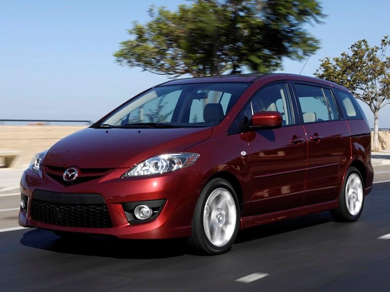 У Mazda5, проданных в России, обнаружили дефект подушек безопасности