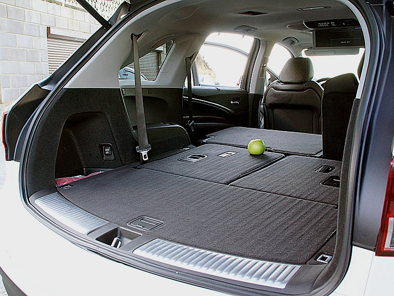 Acura MDX 2014 багажное отделение