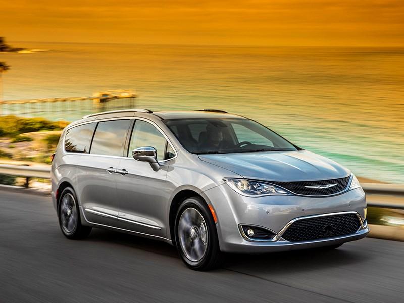 Chrysler привезет в Россию минивэн Pacifica