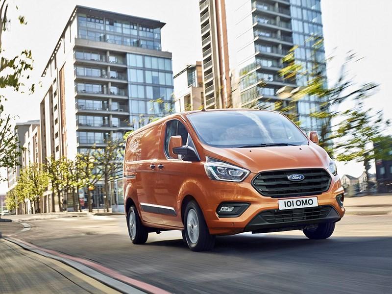 Ford обновил Transit Custom