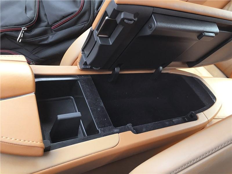 Lexus LC 500 (2021) бокс подлокотника