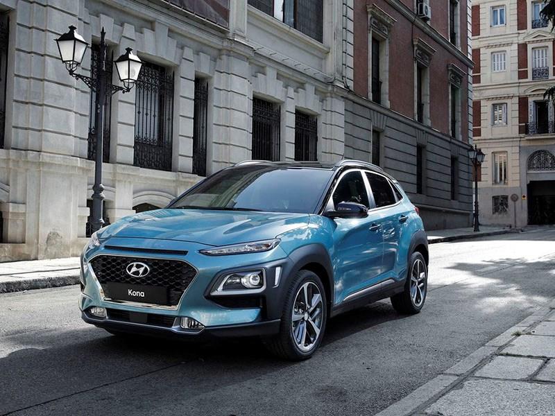 Hyundai представил кроссовер Kona