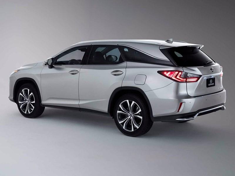 Lexus представил 7-местный вариант кроссовера RX
