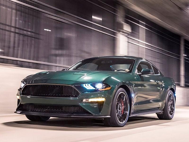 Ford Mustang Bullit: в честь 50-летнего юбилея