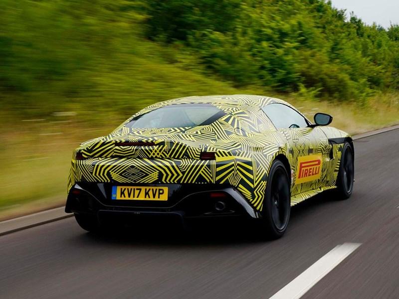 Aston Martin показал новый Vantage