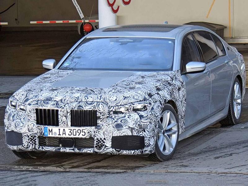 BMW готовит обновление 7-й серии