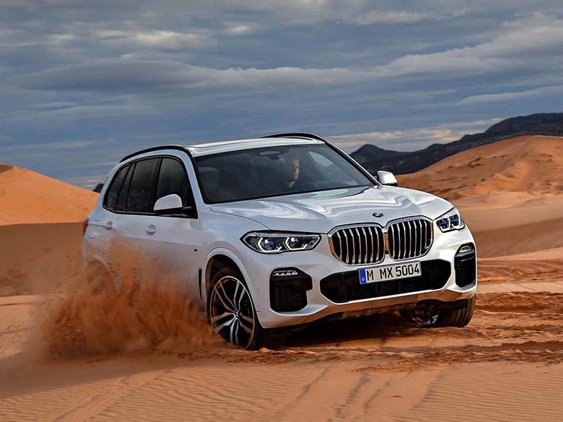 BMW представила новое поколение популярного кроссовера X5 Фото Авто Коломна