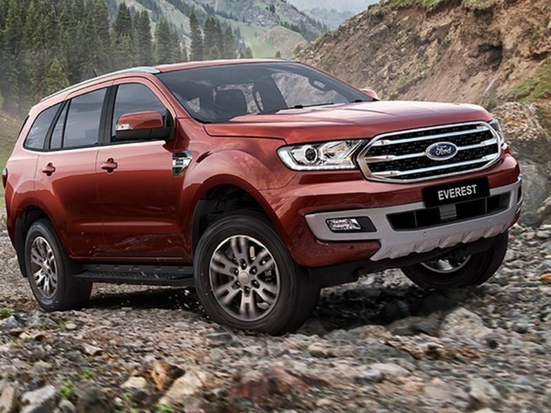 Ford представил обновленный Everest
