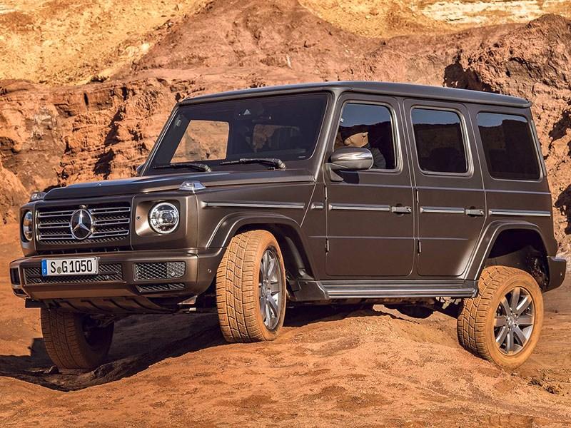 Новый Mercedes-Benz G-класса: изменилось все!