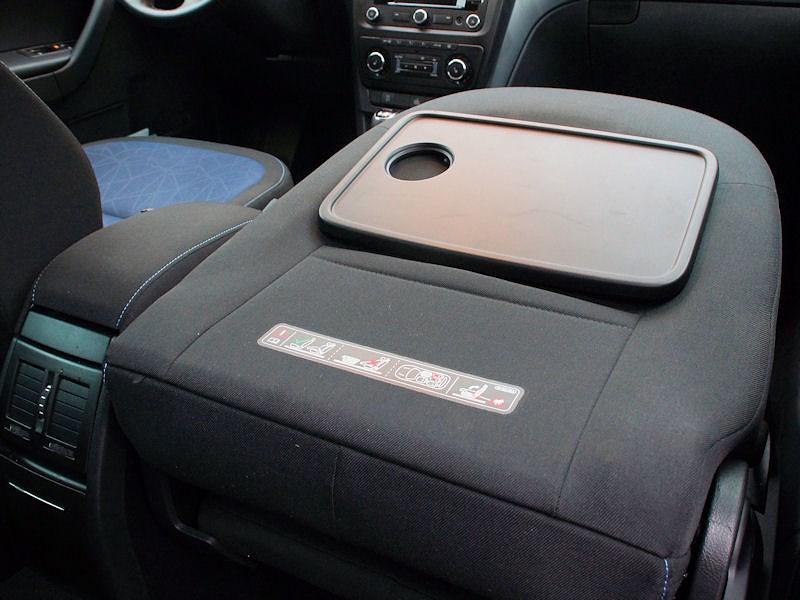 Skoda Yeti 2013 сложенное кресло