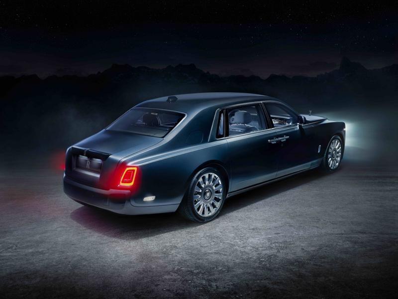 Rolls-Royce представил космический Phantom