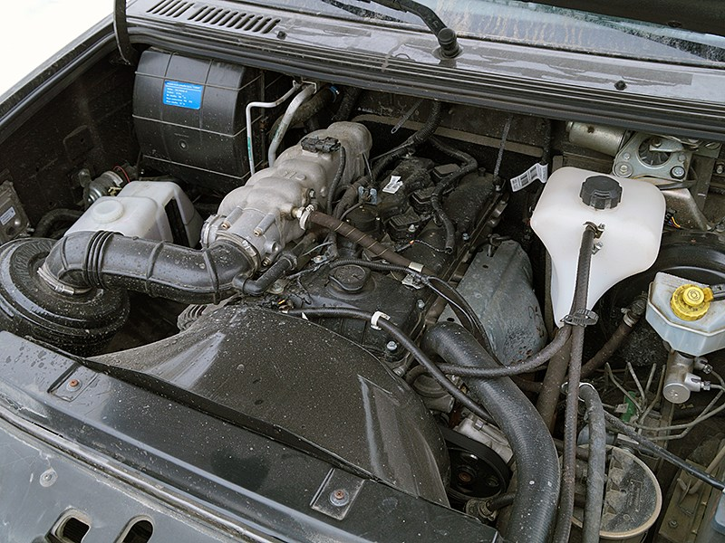 UAZ Patriot 2014 двигатель