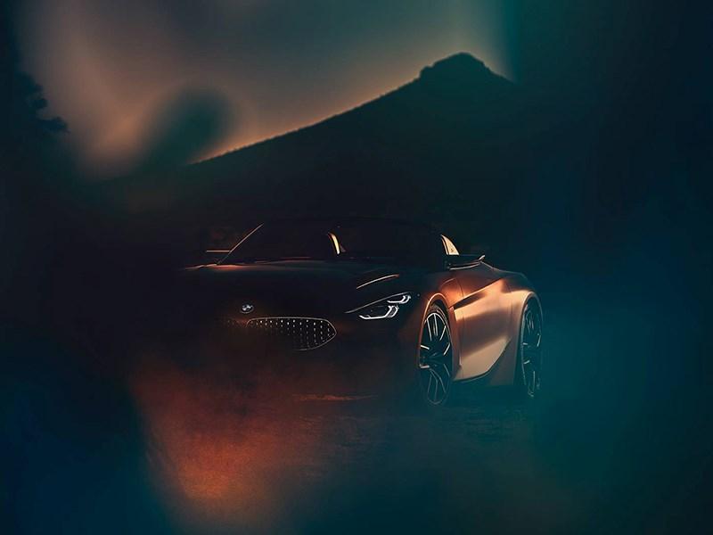 BMW опубликовала первое изображение возрожденного Z4
